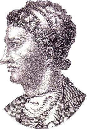 Emperor Arcadius, of Roman Iberian descent