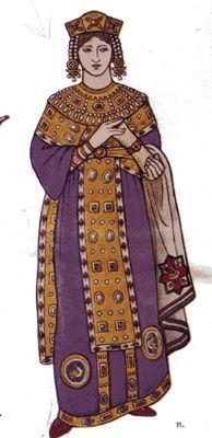 Empress Ariadne, daughter of Leo I, wife of Zeno and Anastasius I