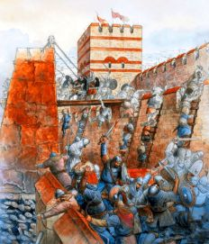 Avars and Slavs besiege Constantinople, 626