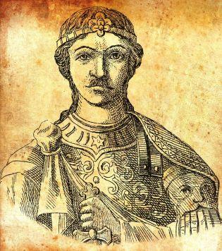 Emperor Michael I Rangabe (r. 811-813), son-in-law of Nikephoros I