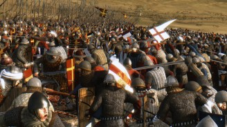 Nicaean Byzantines and Latins clash in battle