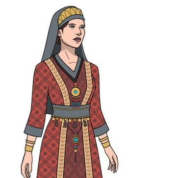 Empress Maria, wife of Leo III