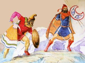 Ancient Thracian warriors