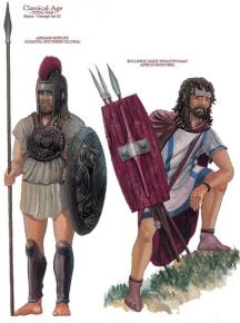 Illyrian soldiers (ancient)
