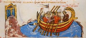 Navy of Thomas the Slav at Constantinople