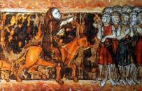 Crusader peasant army