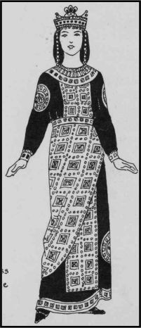 Empress Prokopia, wife of Michael I, daughter of Nikephoros I