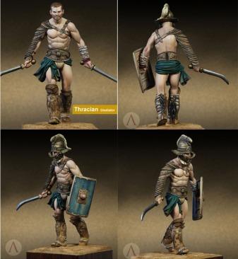 Thracian Gladiator (Roman era)