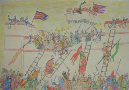 Ottomans besiege Constantinople, 1422