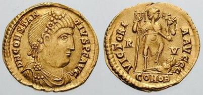 Constantius III (r. 421), husband of Galla Placidia, of Illyrian descent