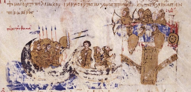 Land and Naval attack of Thomas the Slav on Constantinople