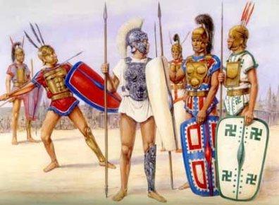 Illyrian soldiers (Ancient Greek era)
