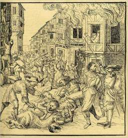 Massacre and mass suicide of Jews in Germany