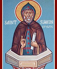 St. Simeon the Stylite (390-459)