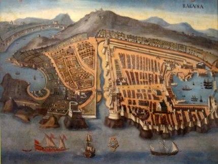 Venetian city of Ragusa (Dubrovnik)