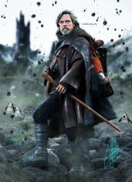 Luke Skywalker in Ahch-To