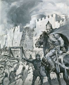 Mongol army besieges Kaffa