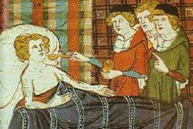 Medieval plague cure: swallowing emeralds