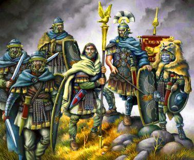 Roman legions in the Macromannic Wars
