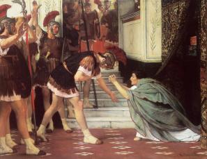 Claudius I crowned emperor by the Praetorians, 41AD