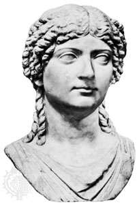 Julia the Younger, daughter of Julia the Elder and Marcus Agrippa