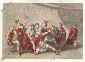 Assassination of Caligula by the Praetorians, 41AD