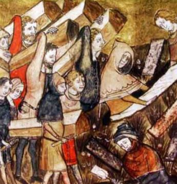 Death toll from the 542 Plague
