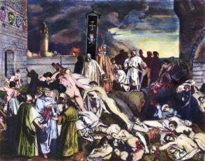 1347 Black Death in Constantinople