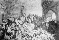 Black Death hits Florence
