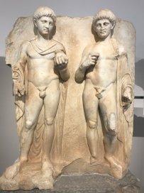 Gaius and Lucius Caesars, sons of Julia and Marcus Agrippa