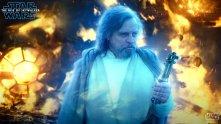 Force ghost Luke Skywalker in Rise of Skywalker