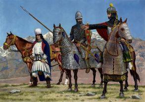 Parthian soldiers