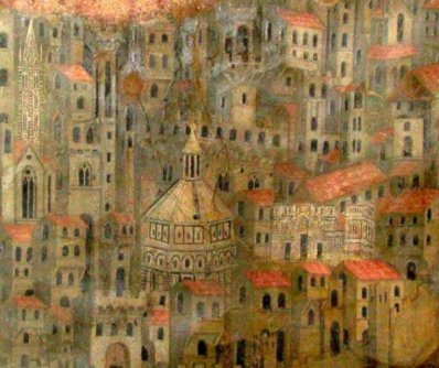 Florence, Italy emptied by Black Death