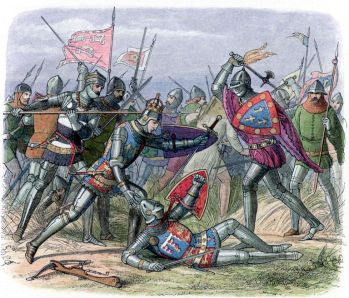 Hundred-Years'-War between England and France