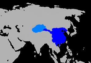Han Empire China map