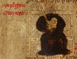 King Malegwn Gwynedd, died from the plague in 547