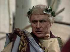 Emperor Tiberius in I, Claudius