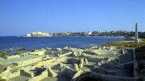 Ruins of Postumus' exile house in Pianosa