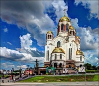 Church on Blood, site of the Ipatiev House in Yekaterinburg