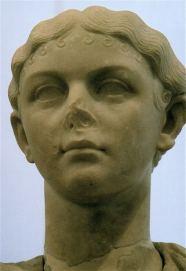 Julia Livilla, daughter of Germanicus and Agrippina the Elder