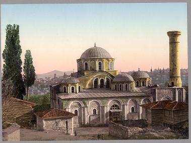 Chora Monastery, Constantinople