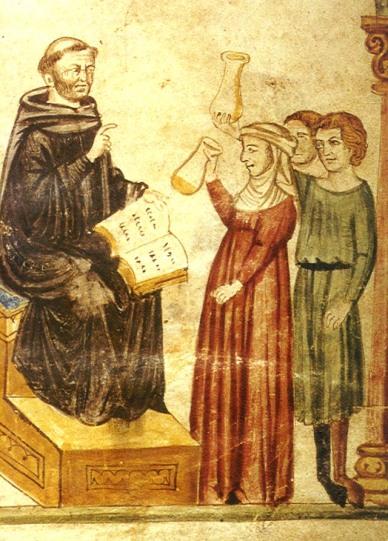 Byzantine urine testing