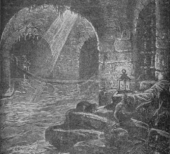 Medieval plague cure: sitting in a sewer