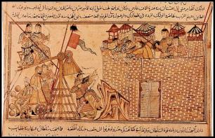 Mongol Siege of Kaffa, origins of the Plague, 1346