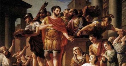 """Emperor Marcus Aurelius, the """"philosopher king"""""""