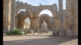 Remains of St. Simeon the Stylite's church in Aleppo