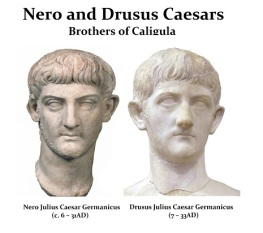 Nero and Drusus Caesars, sons of Germanicus and Agrippina the Elder