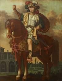 Caligula on his horse, the consul Incitatus