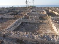 Ruins of Julia's villa in Ventotene