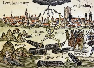 Black Death in London, 1349